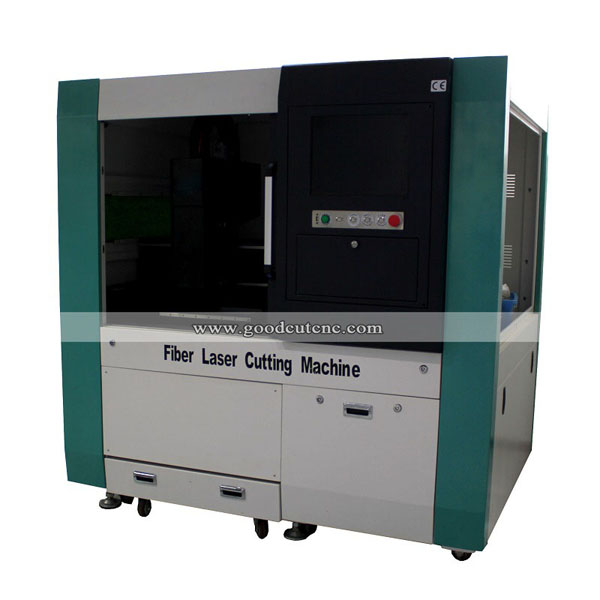 Small Size 6040 Fiber Laser Cutting Machine with Cover